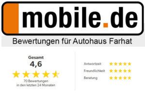 Bewertungen bei mobile.de